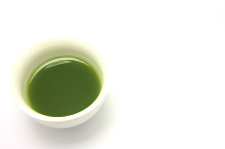 tea estates: matcha Stock Photo