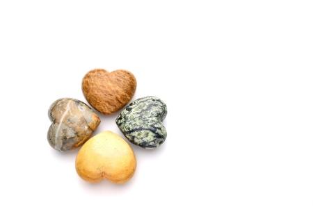 white pebble: love stone