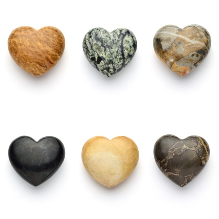 heart shaped: love stone