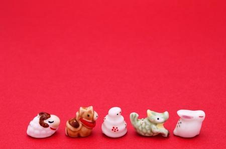 japanese zodiac ,eto Stock Photo - 12871750
