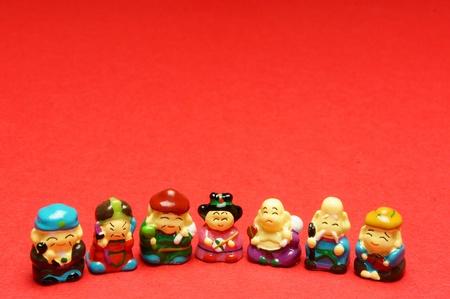 japanese god ,shichi-fuku-zin Stock Photo - 12985158