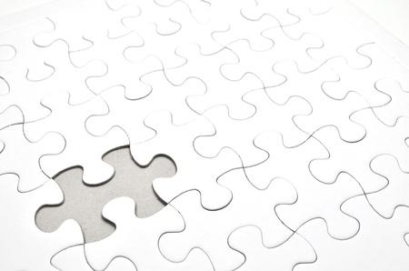 ジグソー パズルのストック イメージ