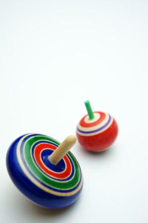 juguetes antiguos: giroscopio japonés