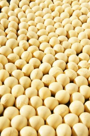 leche de soya: granos de soja