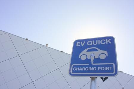 電気自動車 写真素材