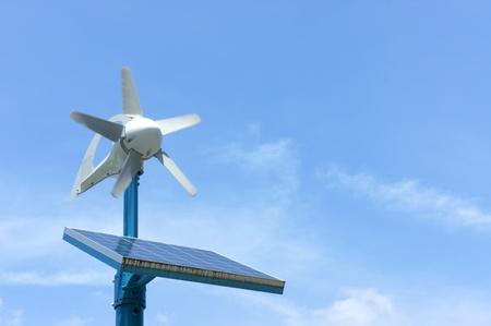 Power generation wind farm photo