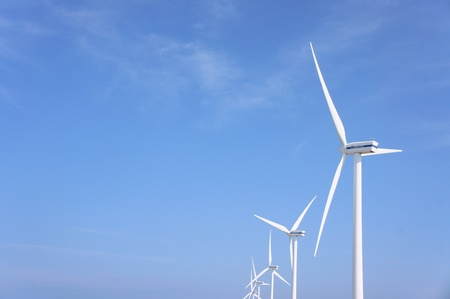 Power generation wind farm photo