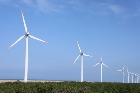 Power generation wind farm Stock Photo - 13219742