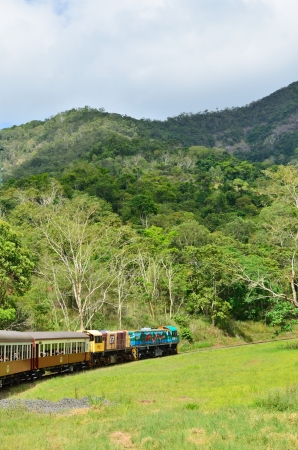 Kuranda train , australia Stock Photo - 13627280