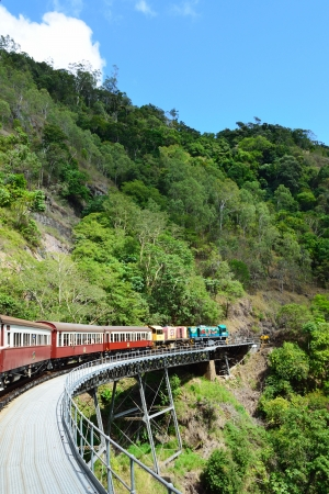 Kuranda train , australia Editorial
