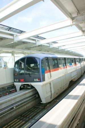 Monorail at tokyo japan