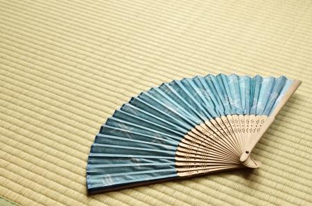 eventail japonais: fan japonais sensu Banque d'images