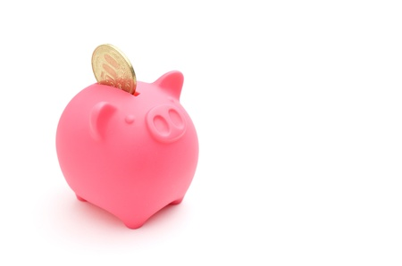 piggy bank and japanese money Stock Photo - 14336891