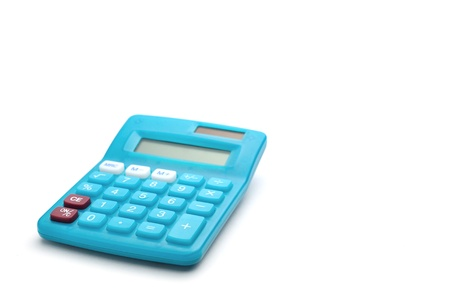 calculator on a white background Stock Photo - 14722108
