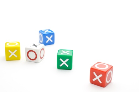 Dice with words Yes, No Stock Photo - 15465541