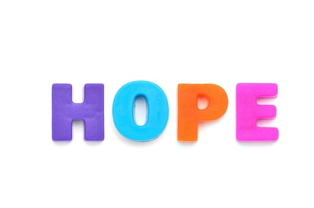 hope sign: HOPE Stock Photo