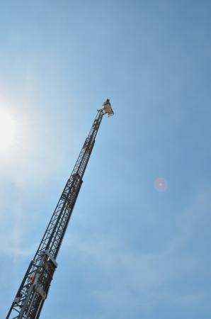 ladder safety: Fire truck