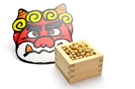 soy sauce: soy and japanese demon Stock Photo