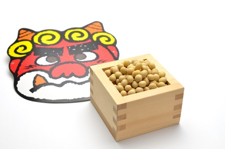 soy and japanese demon Stock Photo