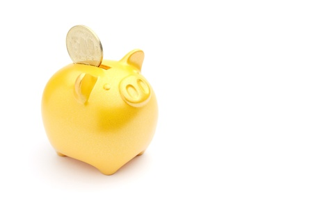 piggy bank isolated on white background Stock Photo