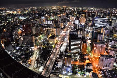 シティライト美しい夜景