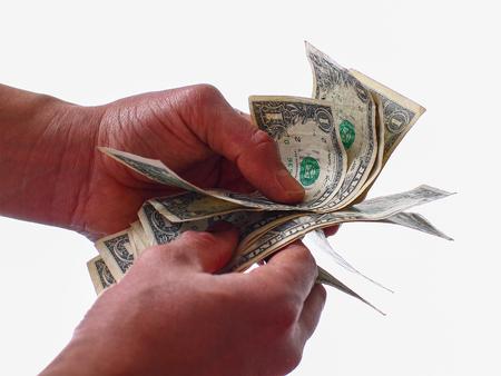 crisis economica: Lack of money - economic crisis - household savings