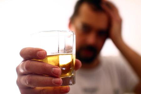 アルコール中毒 - 社会的な問題 写真素材