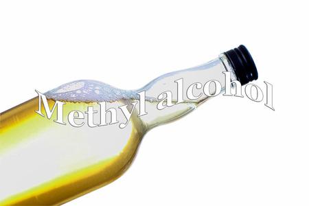 Methyl alcohol - alcohol poisoning - Danger Stock Photo