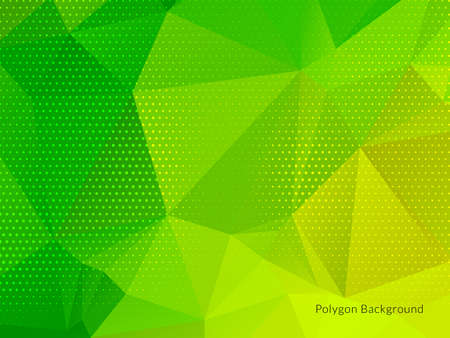 Abstract colorful triangular geometric crystal background vector Çizim