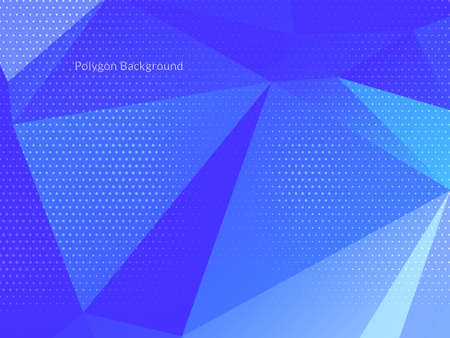 Abstract colorful triangular geometric crystal background vector Ilustracja