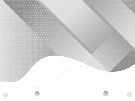 Abstract grey and white geometric stylish modern background design