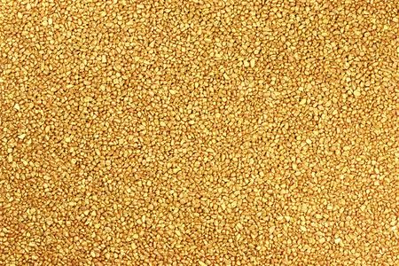 Golden nuggets texture for background.