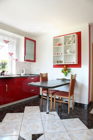 Modern kitchen inter in new home. Stock Photo - 5731916