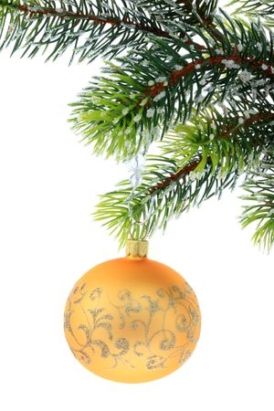 Christmas decoration on a white background. photo