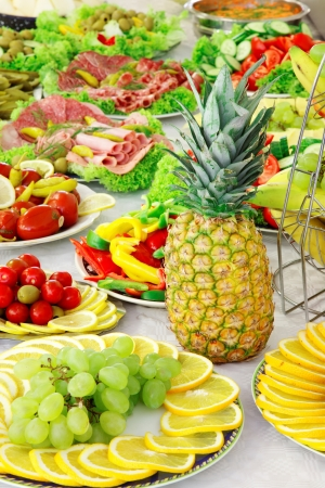 Holiday buffet food on the table. Stock Photo - 15660553