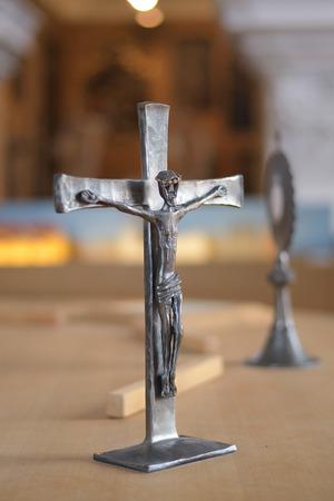 Saint cross Stock Photo