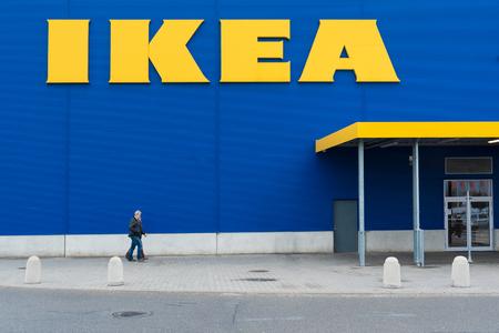23 of October, 2017, Editorial photo of IKEA supermarket, shopping park, Brno, Czech Republic