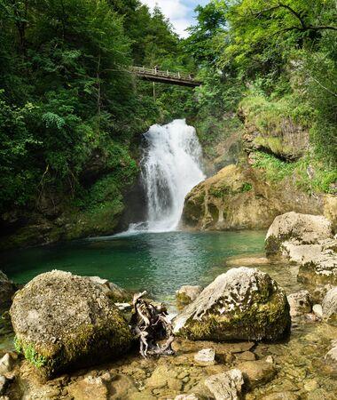 Vintgar gorge, Radovna River