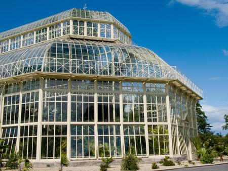 botanic: Greenhouse in Dublin botanic garden