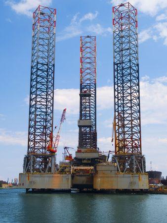 Zee olie platform Drilling Platform
