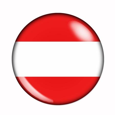 austrian flag: Circular,  buttonised flag of Austria