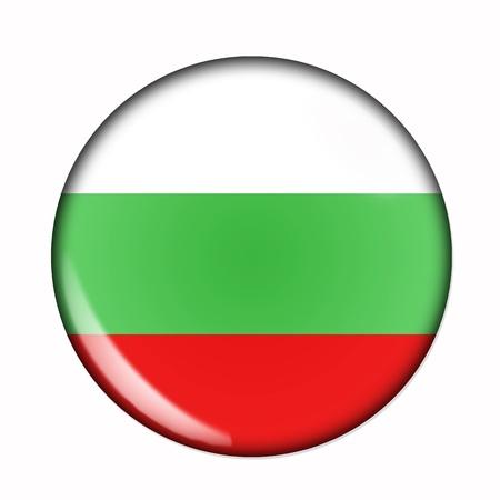 flag button: Circular,  buttonised flag of Bulgaria