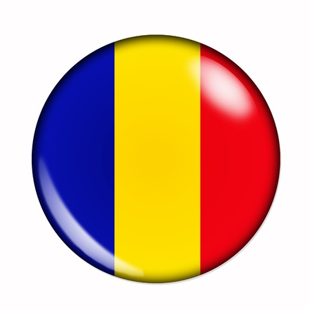 chadian: Circular,  buttonised flag of Chad