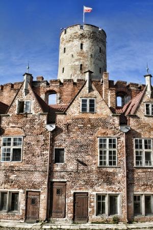 Wisloujscie fort in Gdansk, Polen Stockfoto
