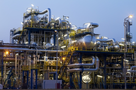 rafinery: A photo of petrochemical industrial plant.
