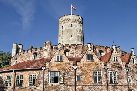 fortify: Interior of famous Wisloujscie fortress in Gdansk, Poland Editorial
