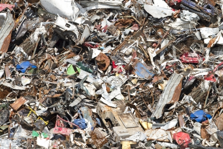 needless: A close up of a trash background Stock Photo