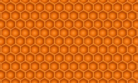 A detailed honeycomb pattern