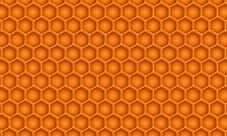 Een gedetailleerde honingraatpatroon Stockfoto - 36131910