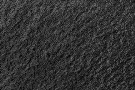 Eine Nahaufnahme von einem schwarzen Kohle Textur